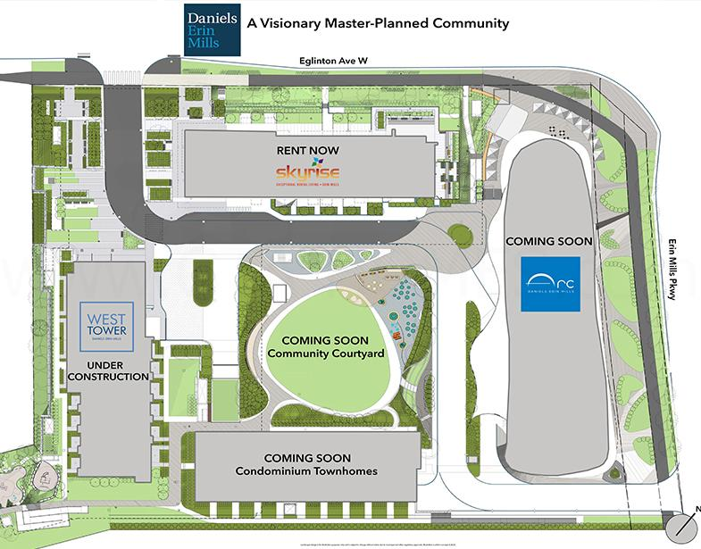 Daniels Erin Mills a Visionary Master Planned Community